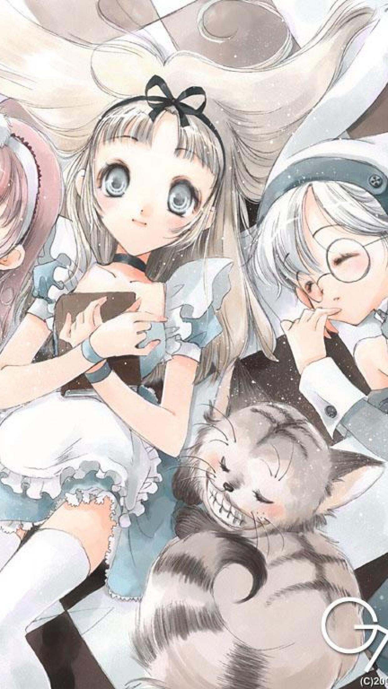 Summer Android Wallpaper Quotes Alice In Wonderland Iphone Wallpaper Pixelstalk Net