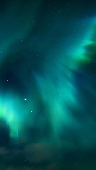 Download Free Aurora Borealis Background for Mobile | PixelsTalk.Net