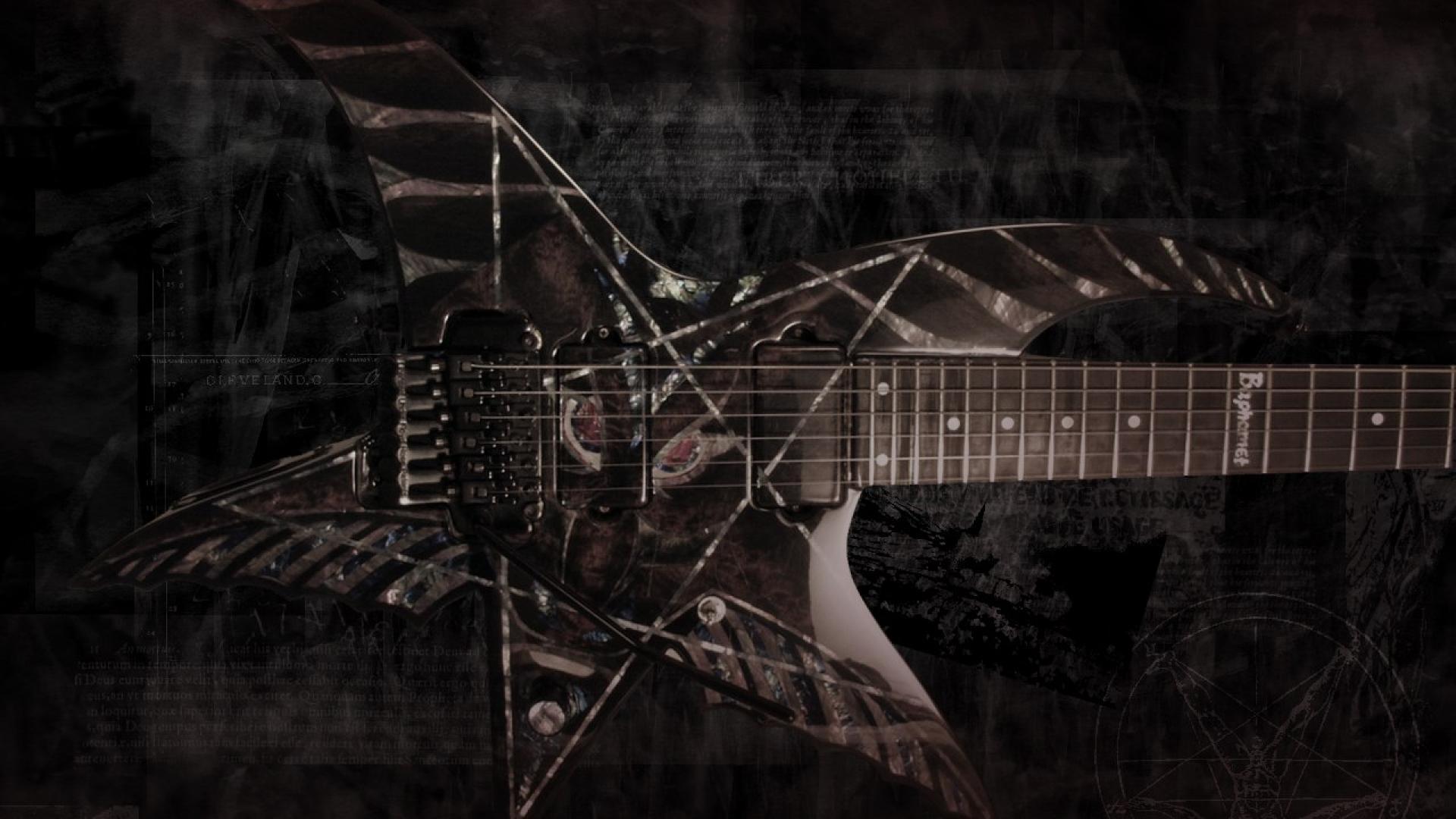 Music Quotes Wallpaper Guitar Baphomet Wallpaper For Desktop Pixelstalk Net