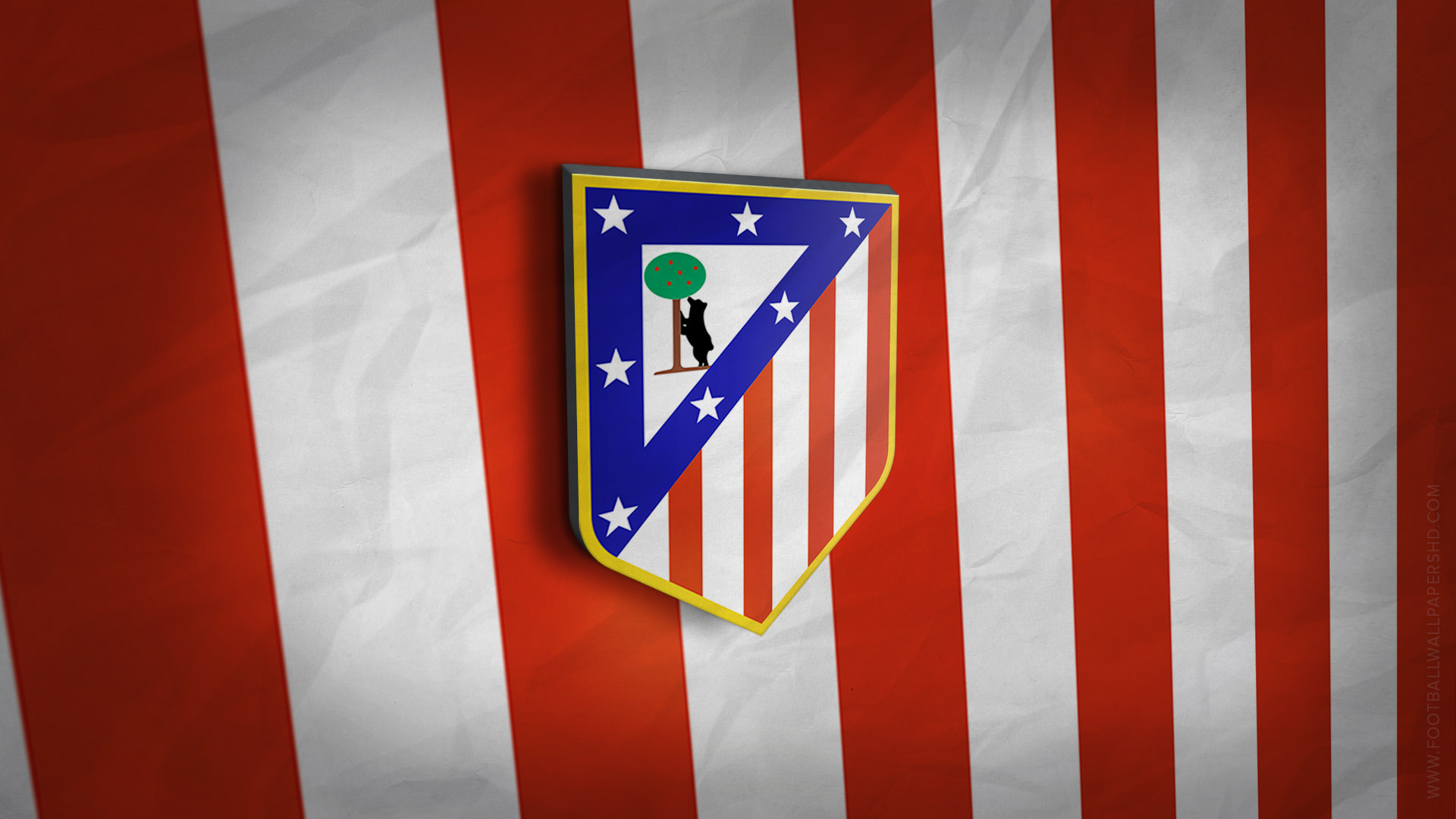 Hq 3d Wallpapers Free Download Hd Atletico Madrid Logo Wallpaper Pixelstalk Net