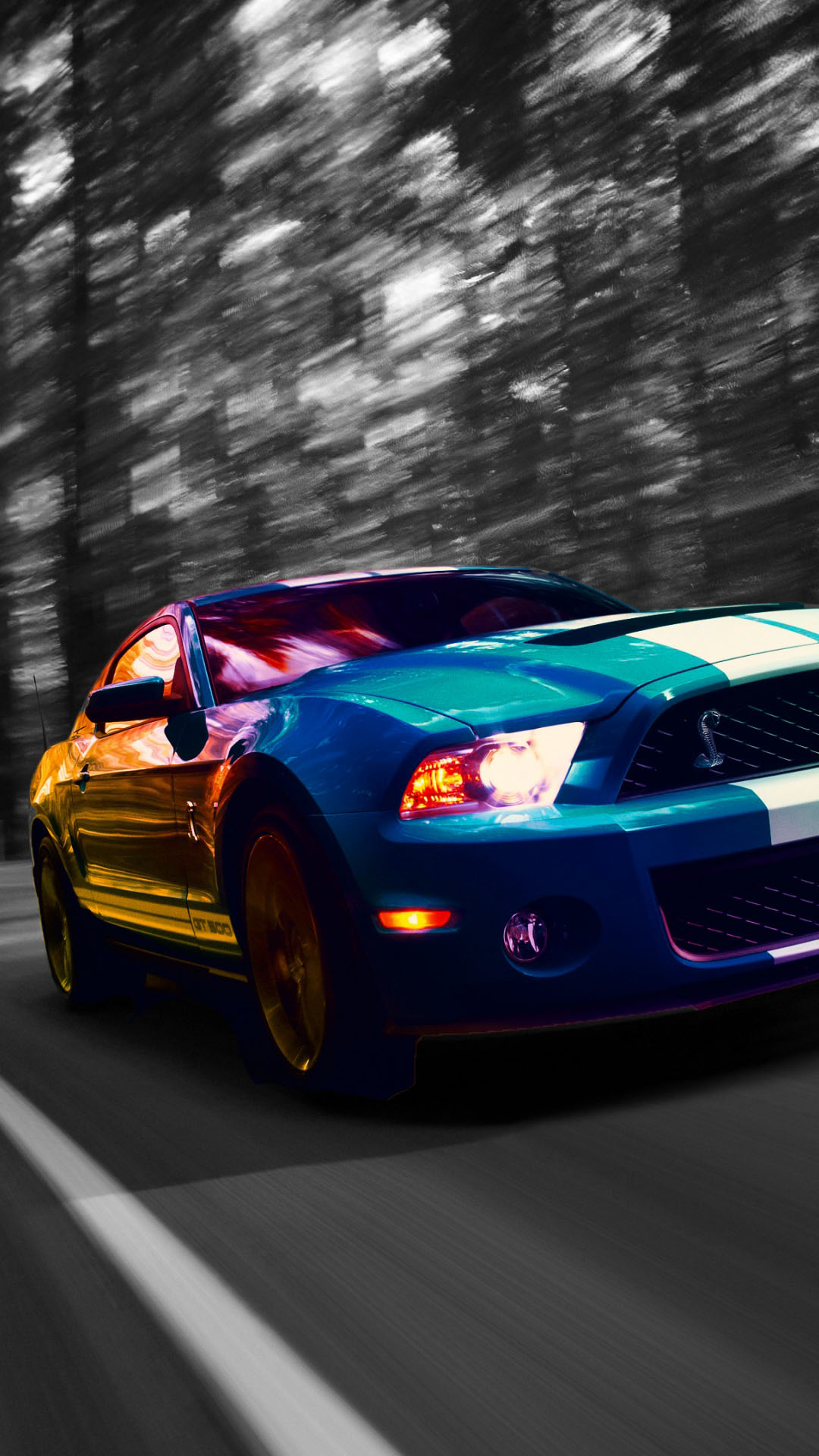 Iphone Muscle Car Wallpapers Ford Iphone Backgrounds Pixelstalk Net
