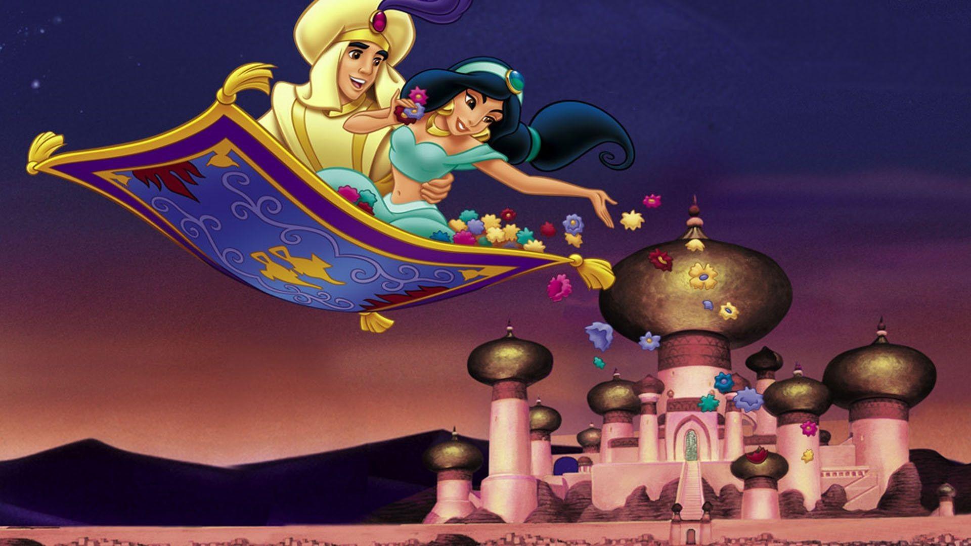 Cartoon Fall Wallpaper Aladdin Wallpapers Hd Pixelstalk Net