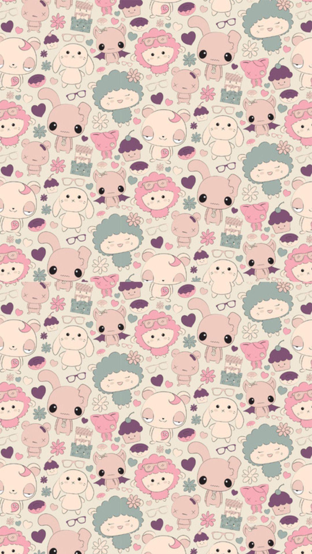 Cute Pink Pastel Wallpaper Kawaii Iphone Wallpapers Pixelstalk Net