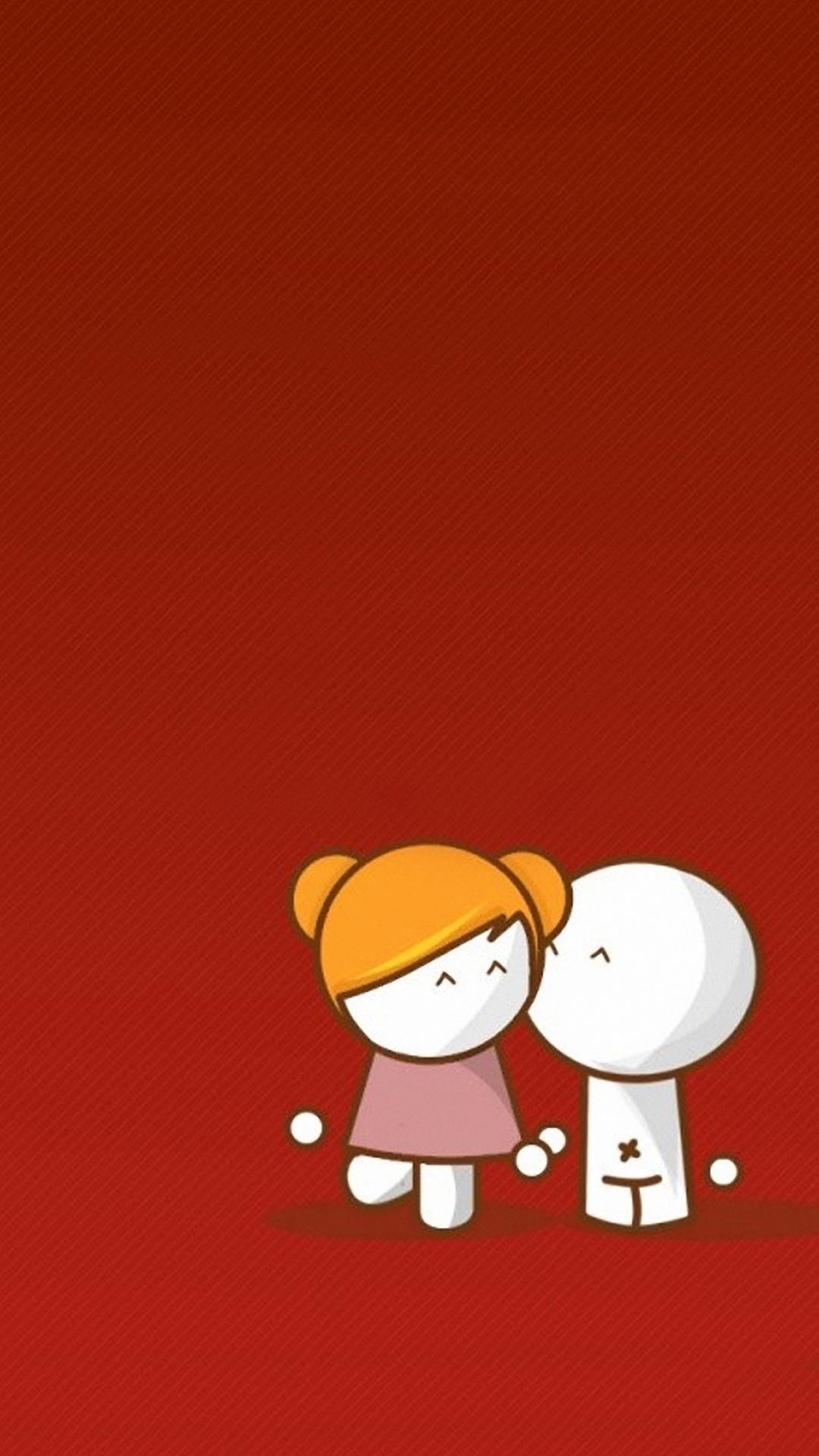 Cartoon Couple Wallpaper With Quotes Free Cartoon Iphone Backgrounds Pixelstalk Net