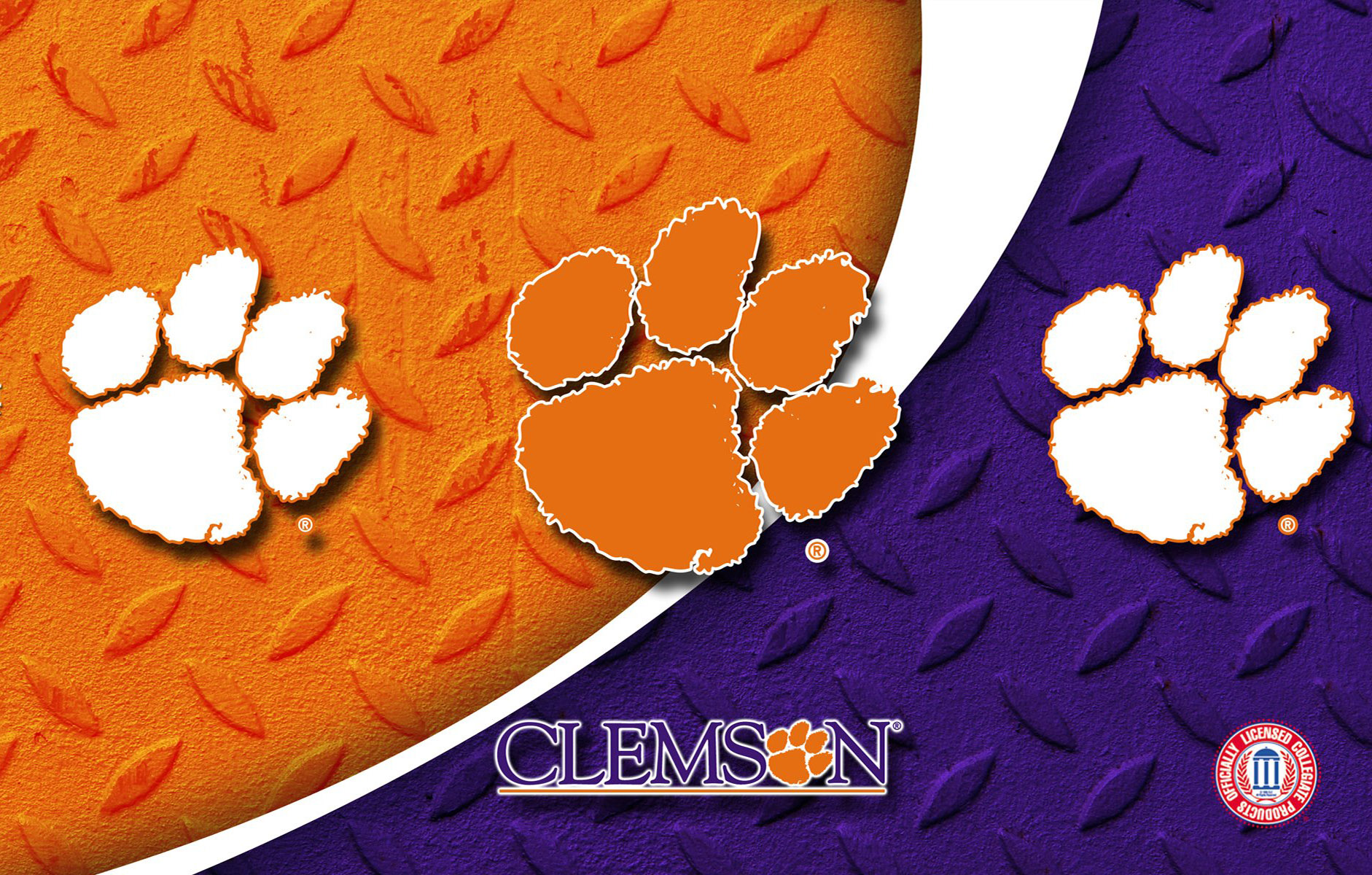 Golf Wallpaper Iphone 6 Clemson Tigers Wallpapers Hd Pixelstalk Net