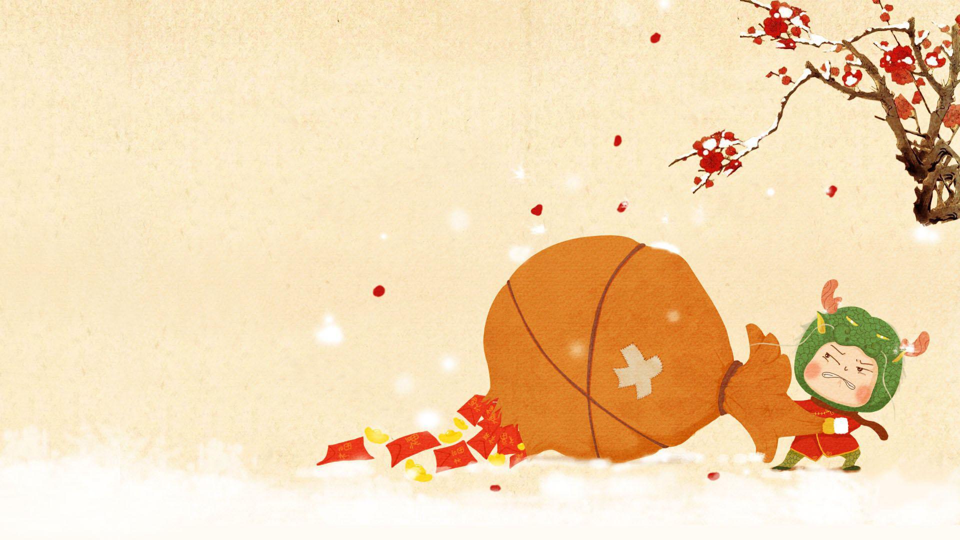 Cute Kitty Wallpaper Desktop Chinese New Year Backgrounds Pixelstalk Net