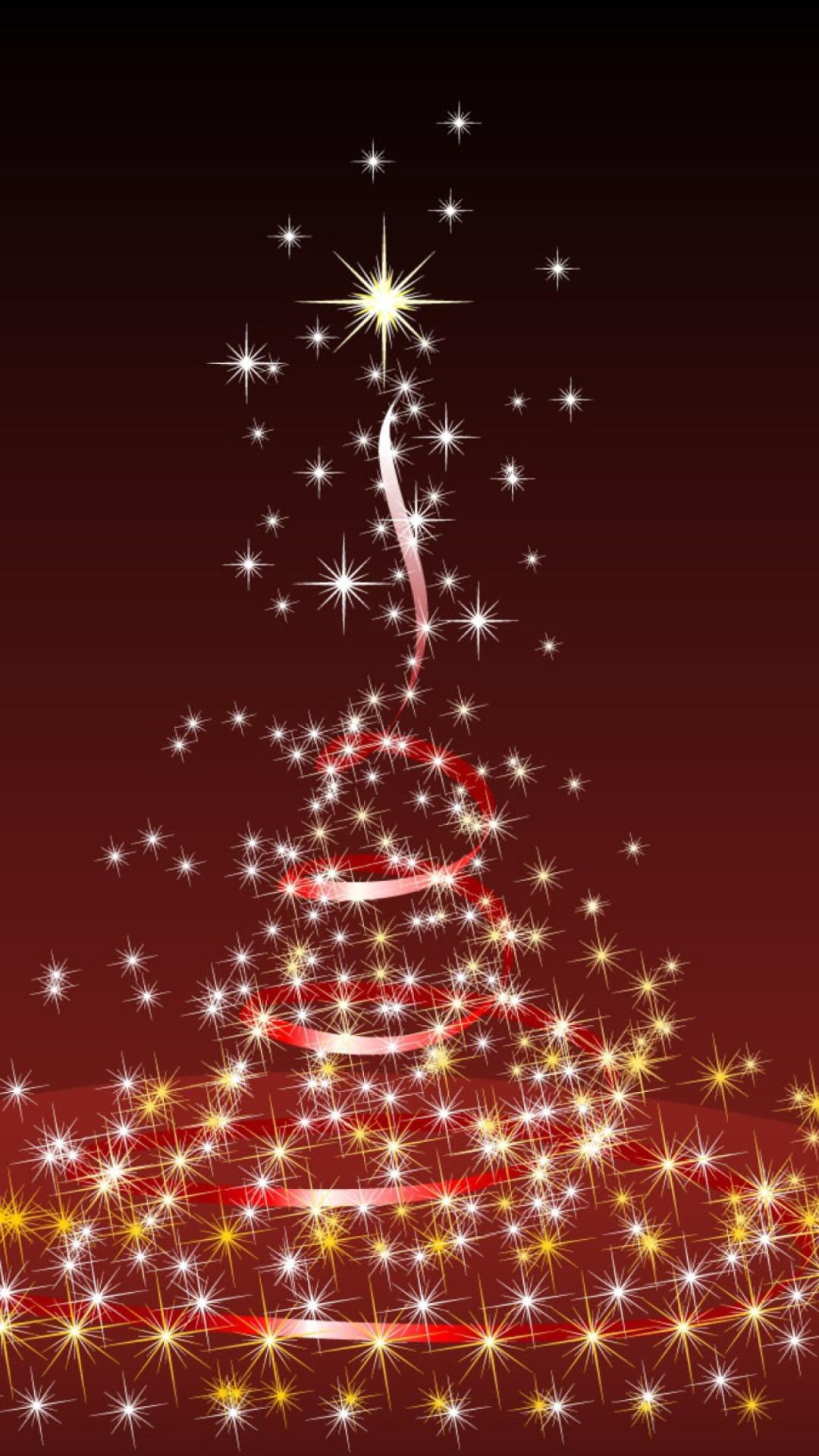 Black And Red Iphone Wallpaper Christmas Lights Iphone Wallpapers Pixelstalk Net