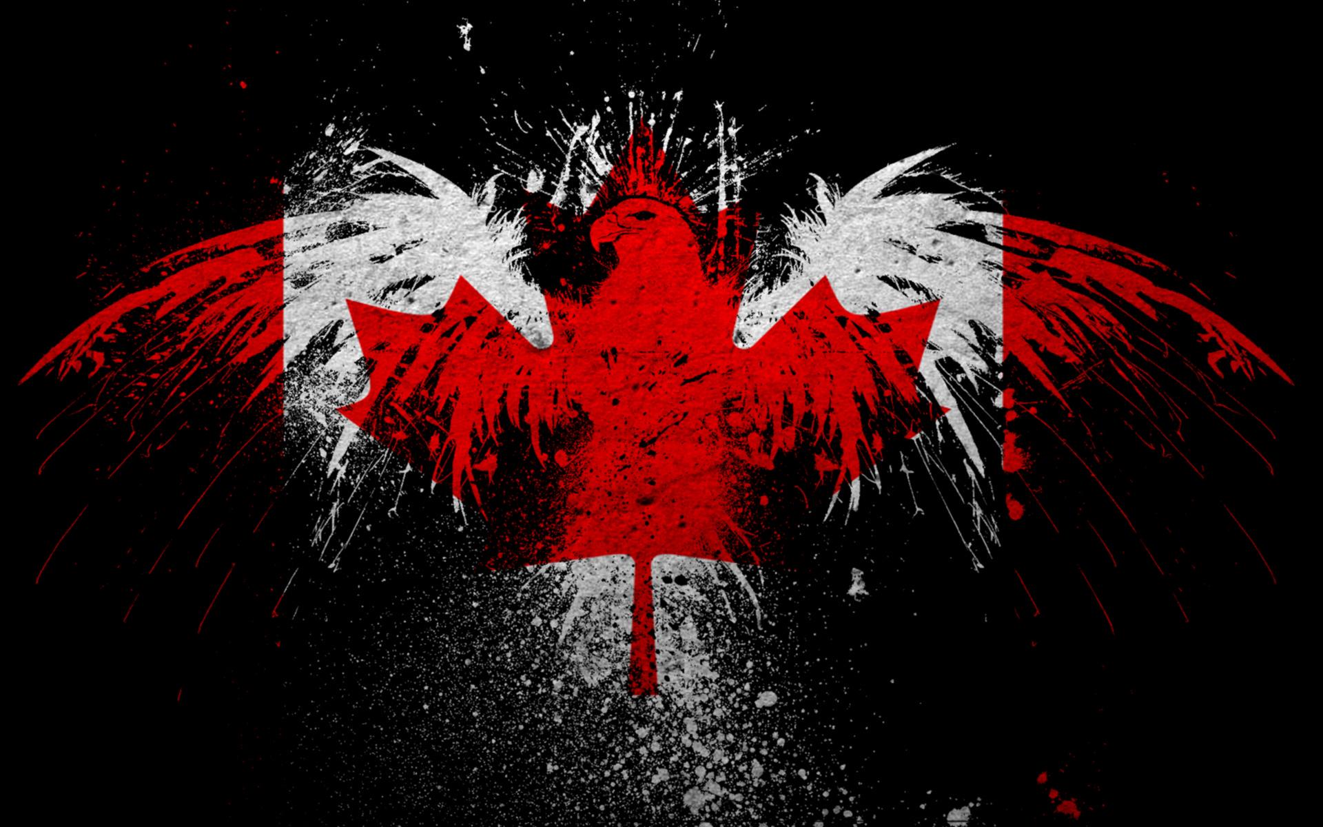 Desktop Wallpaper 3d French Country Canada Flag Wallpapers Hd Pixelstalk Net