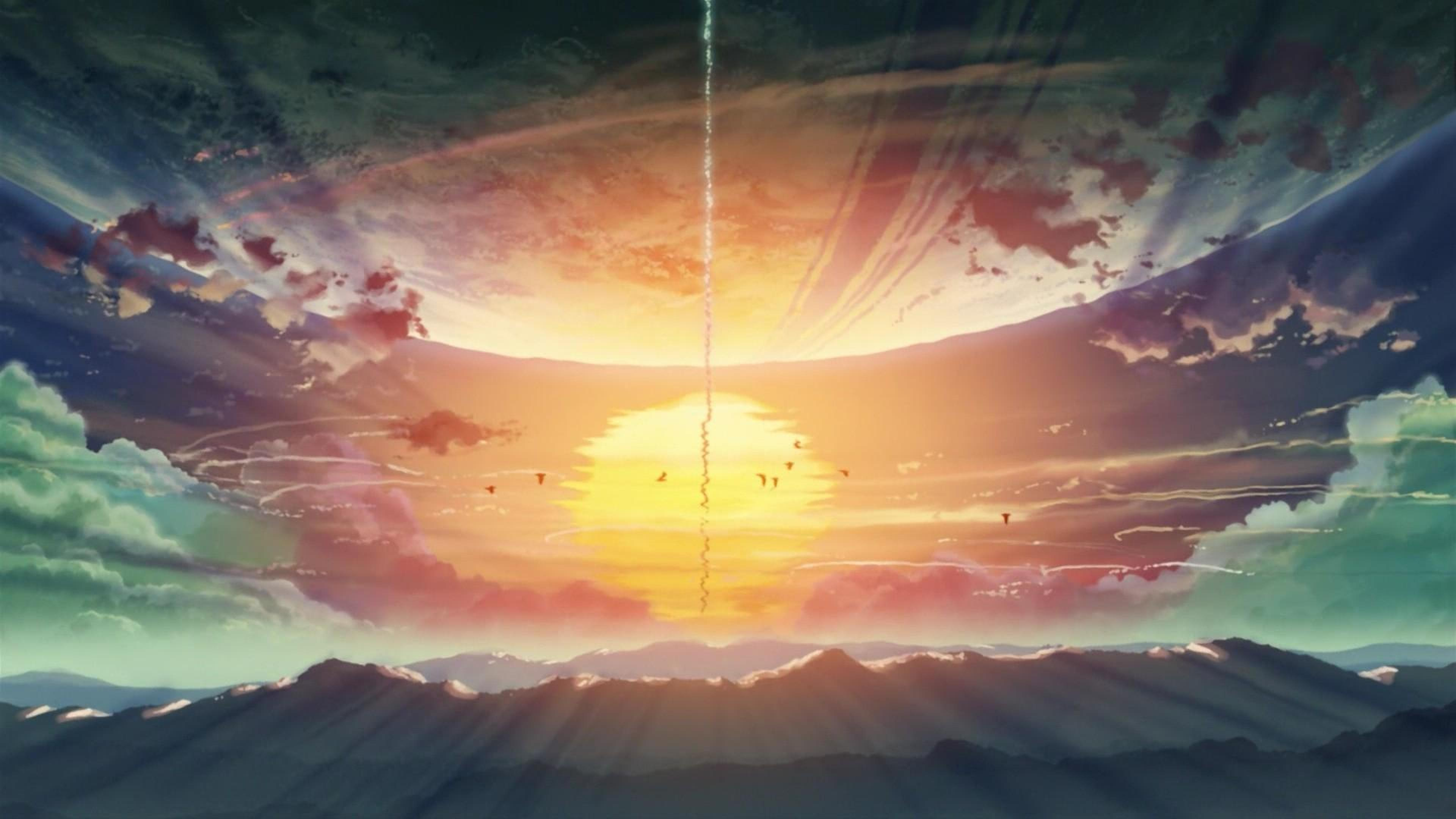 Cute Girl Style Wallpaper 5 Centimeters Per Second Backgrounds Pixelstalk Net