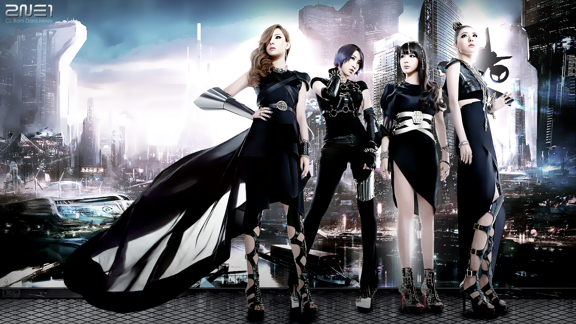 2ne1 Wallpaper Hd 2ne1 Wallpapers Hd Pixelstalk Net