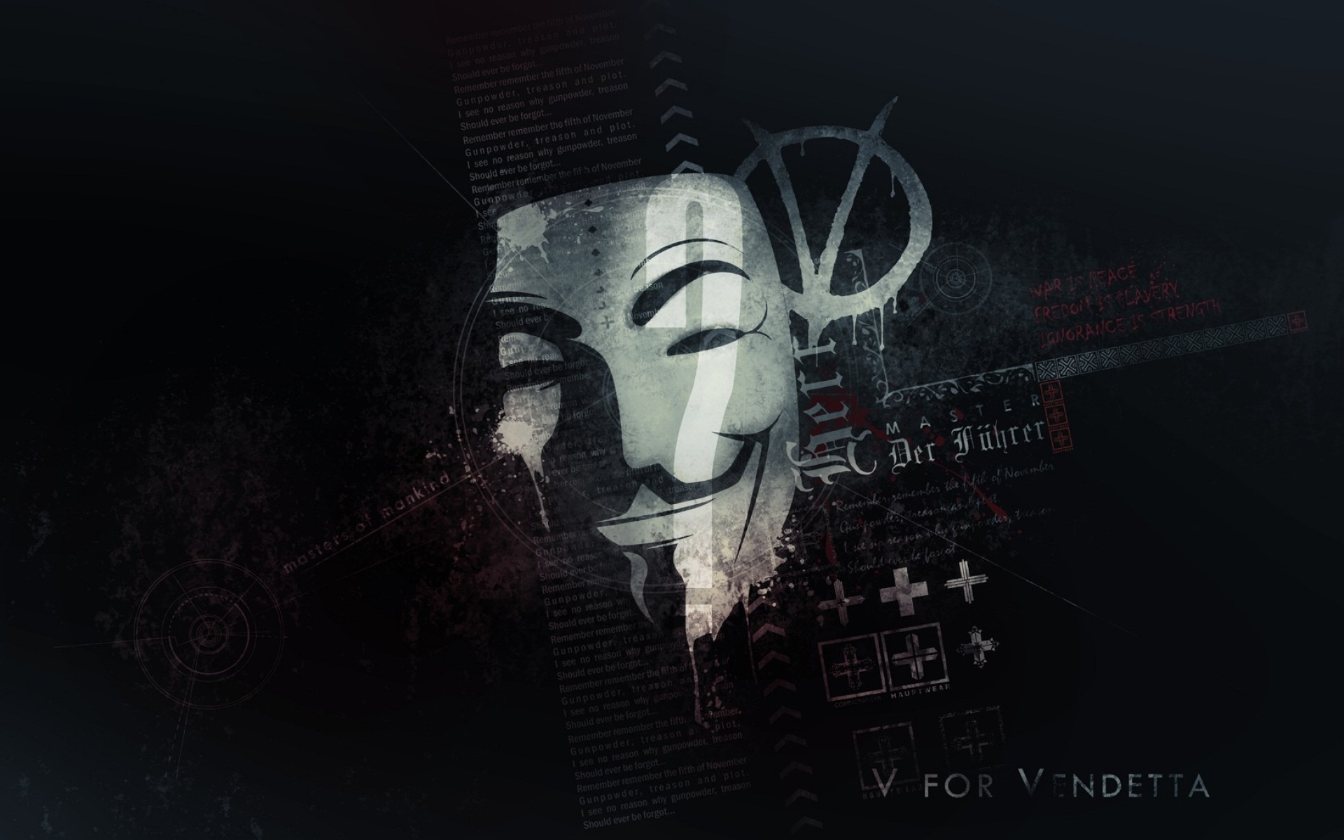V For Vendetta Quotes Hd Wallpaper Anonymous Mask Wallpapers Hd Pixelstalk Net