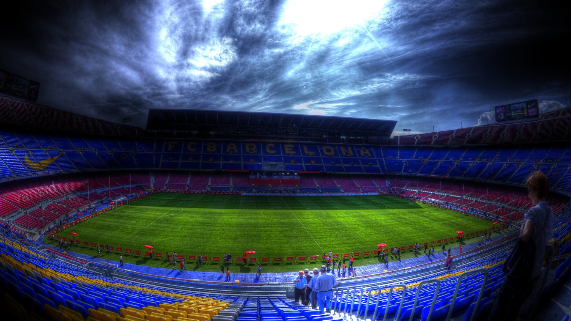 Messi Quotes Wallpaper Hd Camp Nou Stadium Wallpaper Download Free Pixelstalk Net