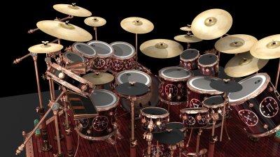 Drum Set Wallpapers HD | PixelsTalk.Net