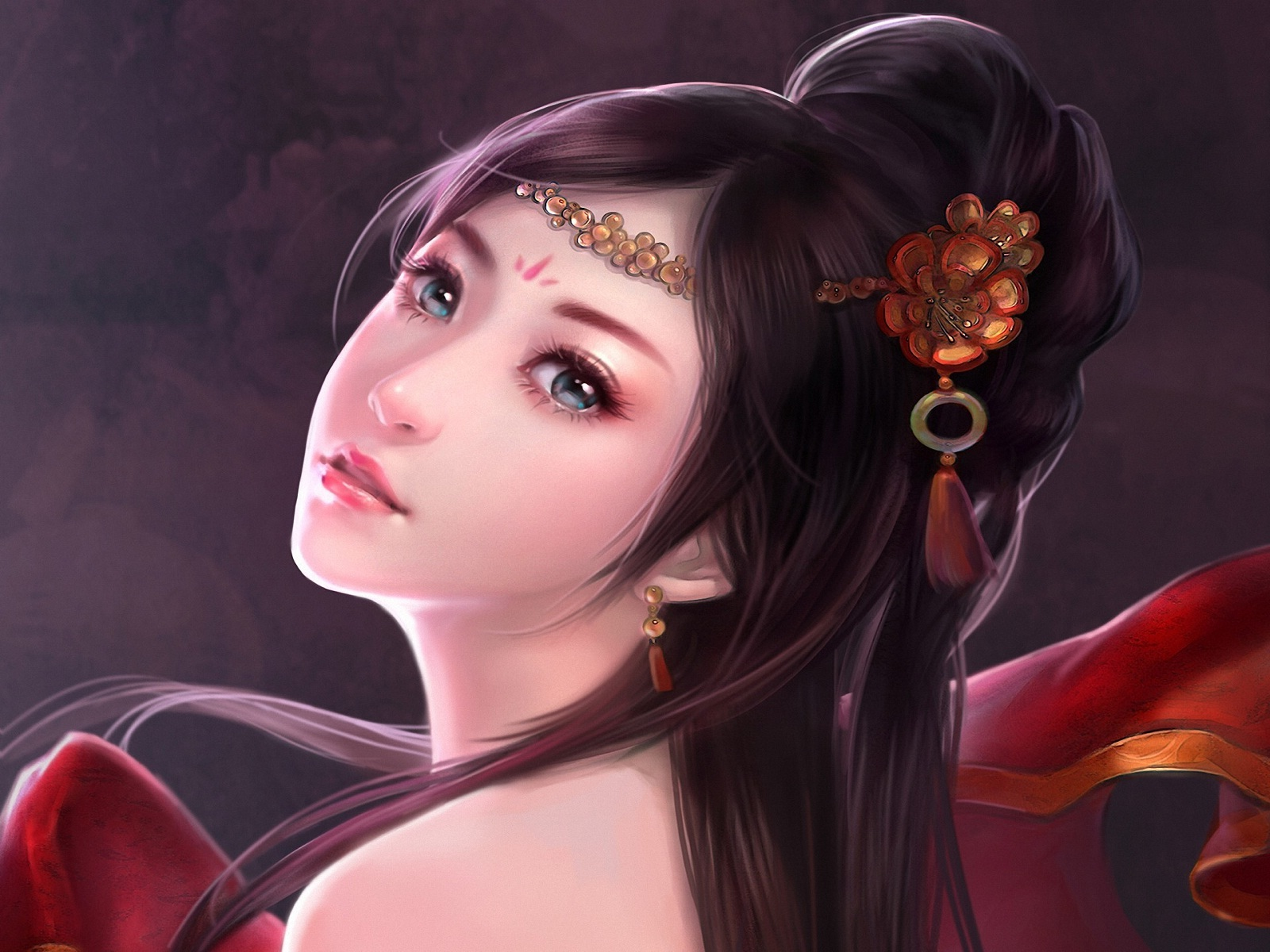 Samurai Girl Wallpaper Hd Fantasy Girl Wallpapers Hd Pixelstalk Net