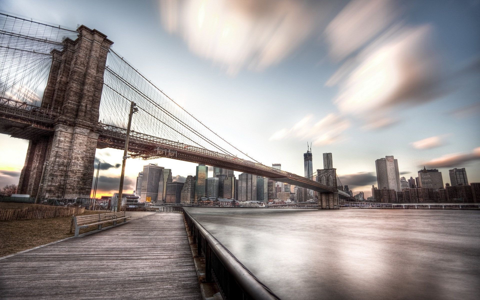 Happy New Year D With Quotes Brooklyn Bridge Background Free Download Pixelstalk Net