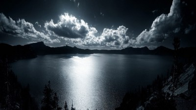 Crater Lake Background HD | PixelsTalk.Net