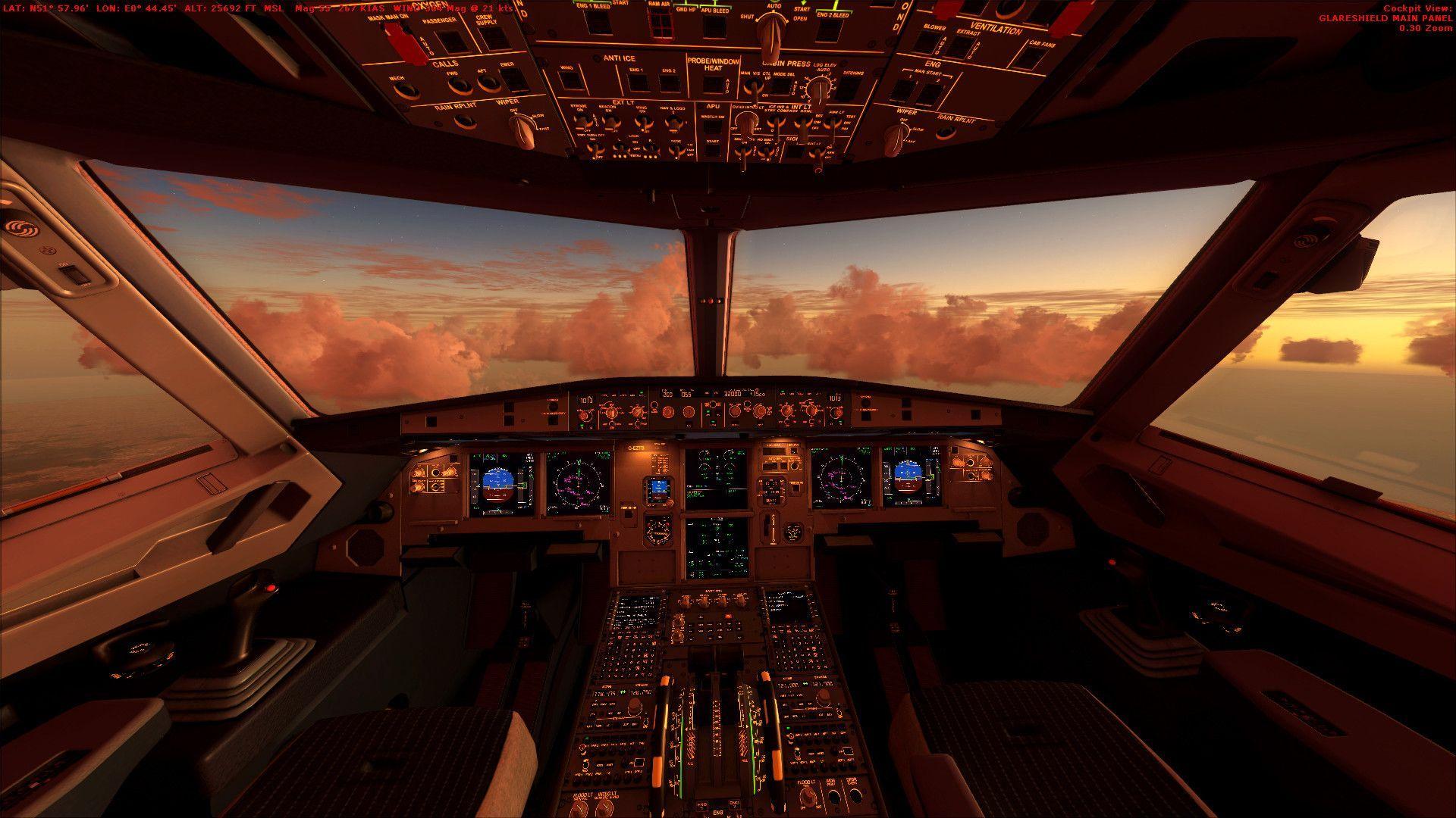 Airbus Iphone Wallpaper Cockpit Wallpaper Hd Pixelstalk Net