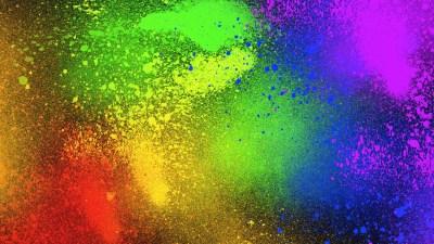 Color Splash Desktop Wallpaper | PixelsTalk.Net