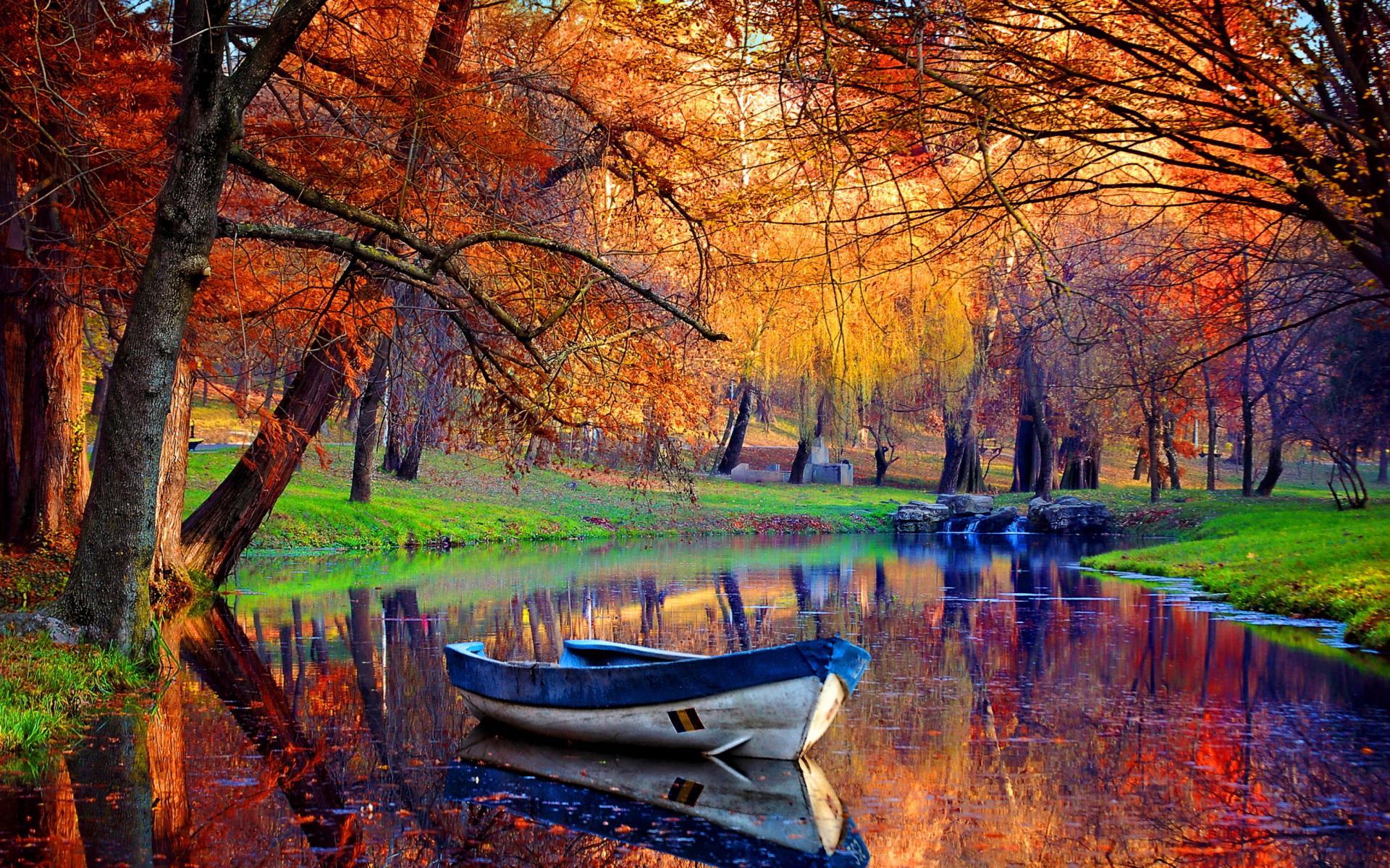 Free Fall Season Wallpaper Autumn River Hd Wallpaper Pixelstalk Net