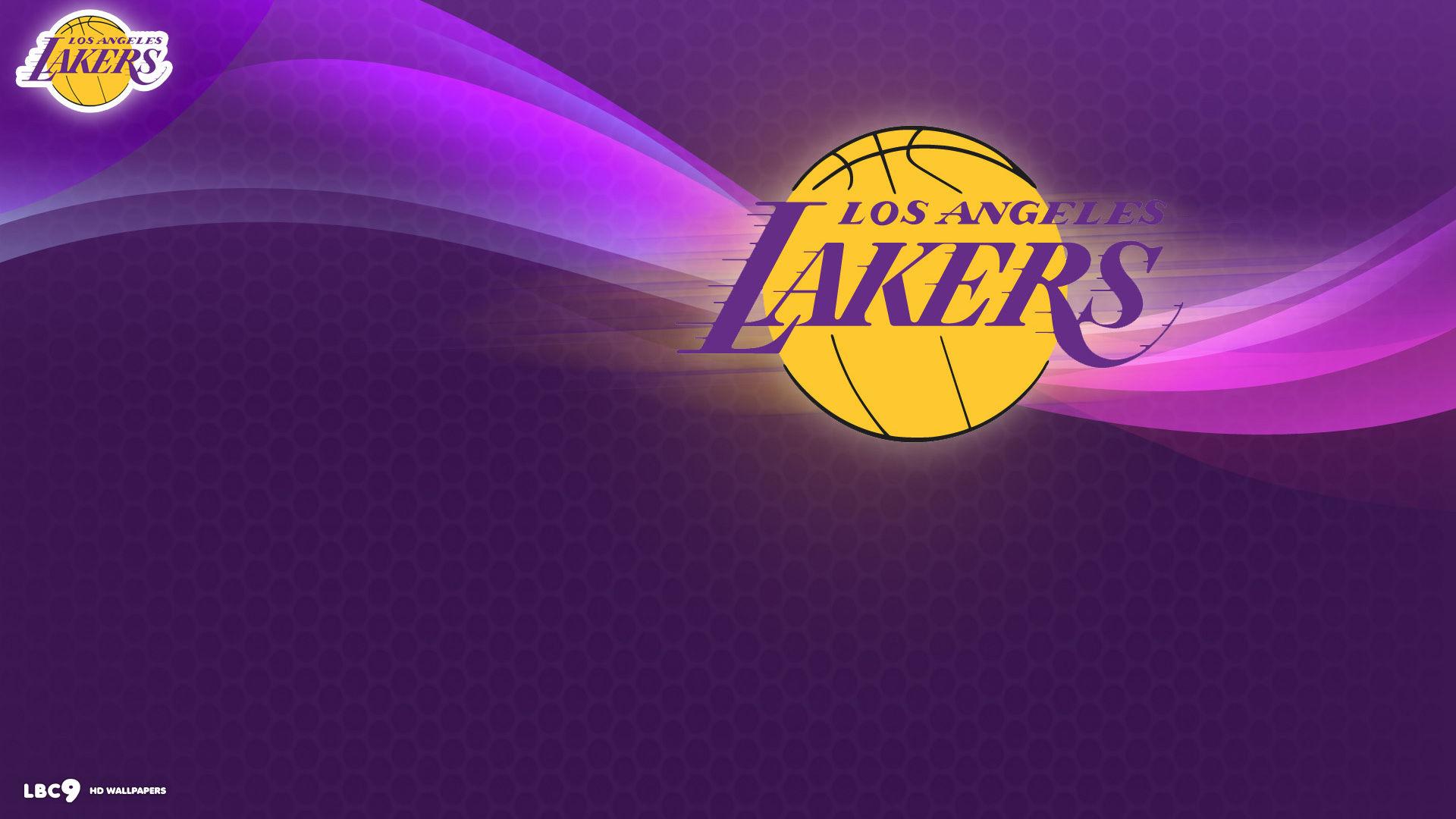 3d Grey Brick Wallpaper Lakers Logo Wallpapers Pixelstalk Net