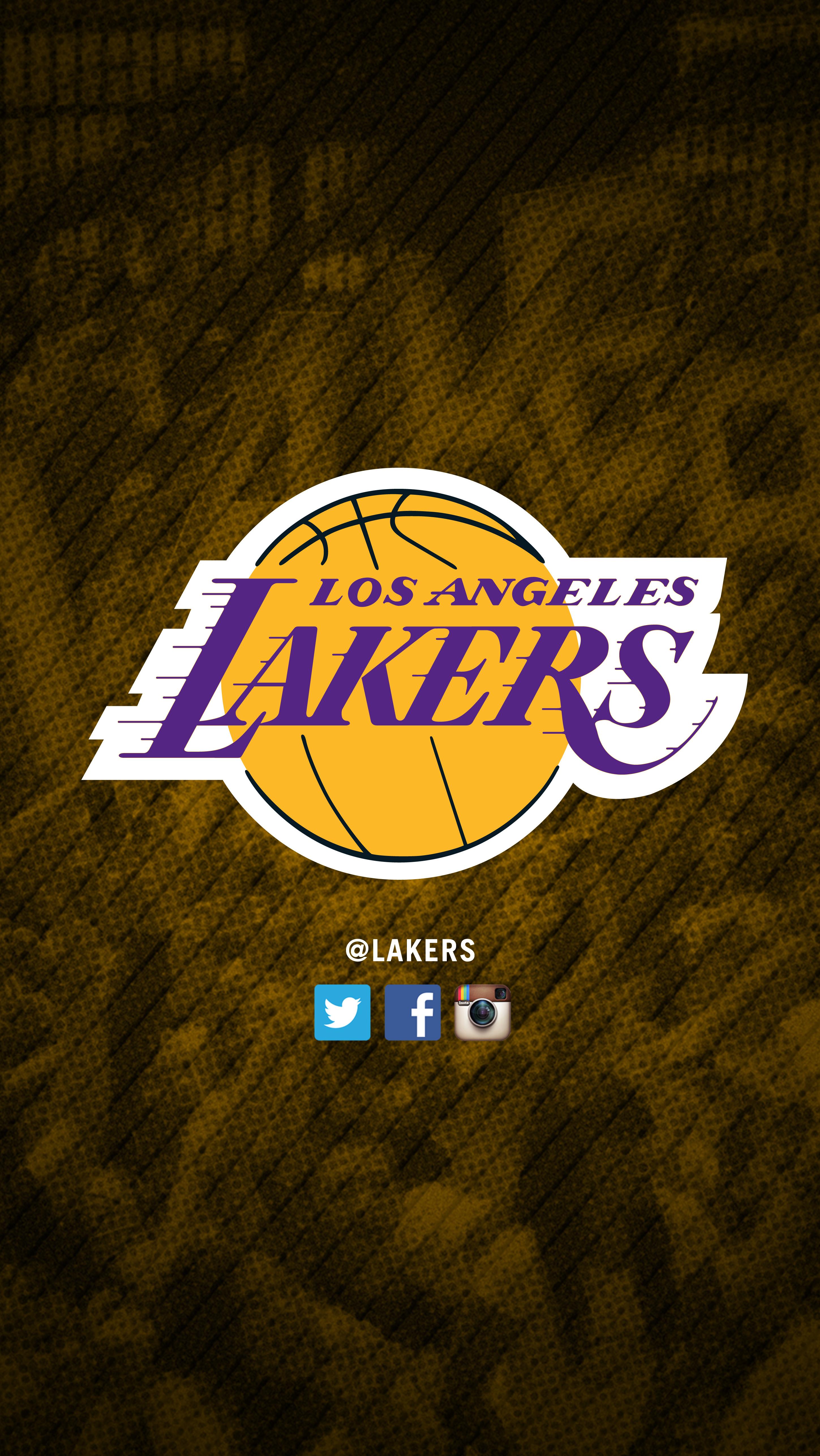 Iphone X Los Angeles Wallpaper Lakers Logo Wallpapers Pixelstalk Net