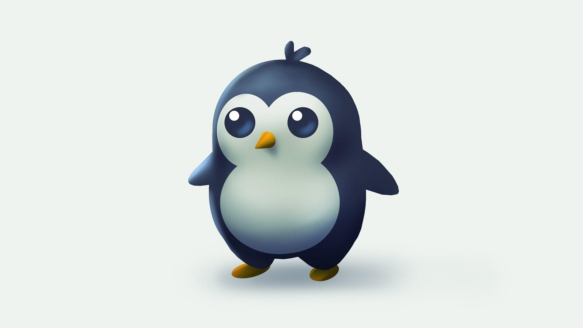 Cute Cartoon Penguins Wallpaper Penguin Hd Wallpapers Pixelstalk Net