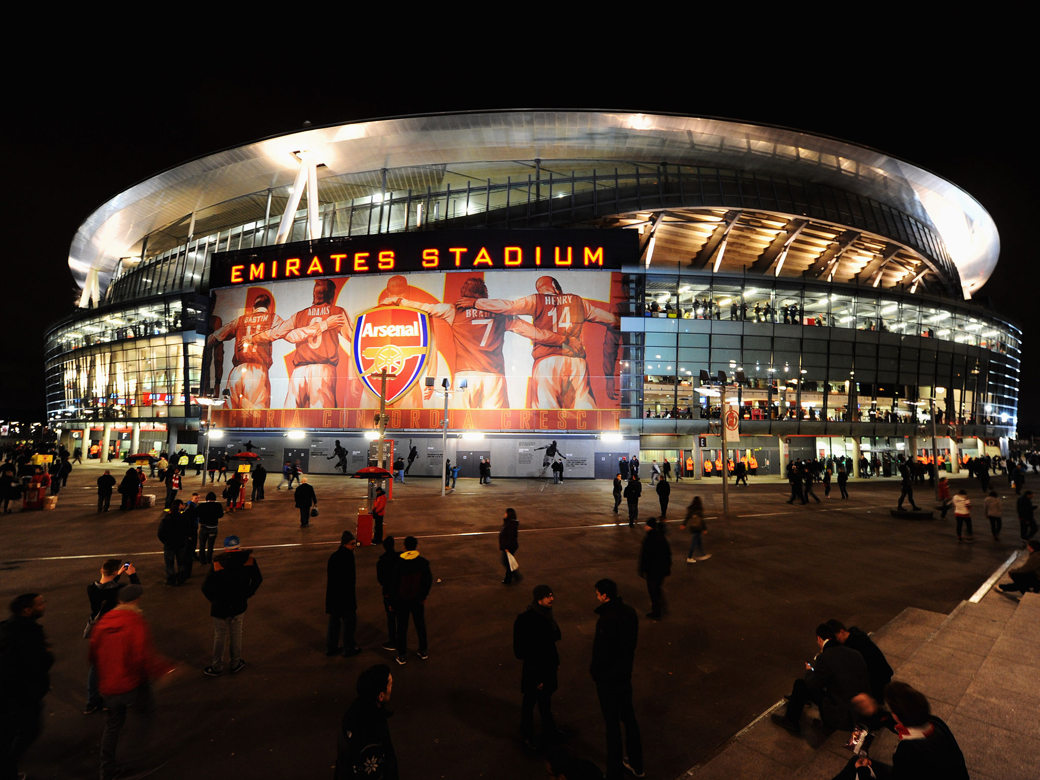 Wallpaper Arsenal Hd Arsenal Emirates Stadium Wallpaper Hd Pixelstalk Net