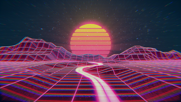 Iphone Wallpaper Trippy Outrun Wallpaper Hd Pixelstalk Net