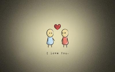 I Love You Background free download | PixelsTalk.Net