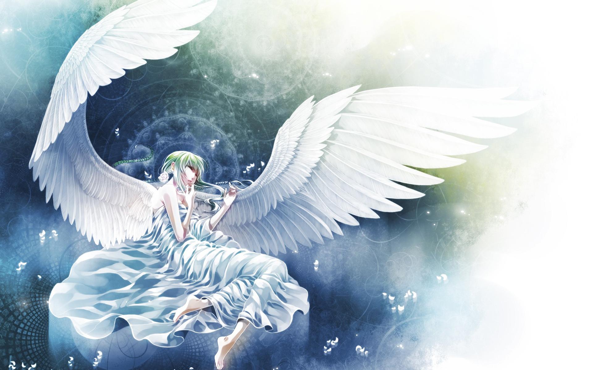 Cute Fairy Girl Wallpapers Anime Angel Wings Hd Image Pixelstalk Net