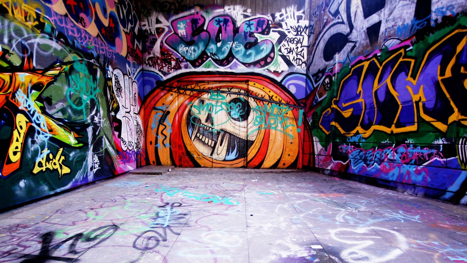 Vintage Brick Wallpaper 3d Graffiti Background Wall Street Art Pixelstalk Net