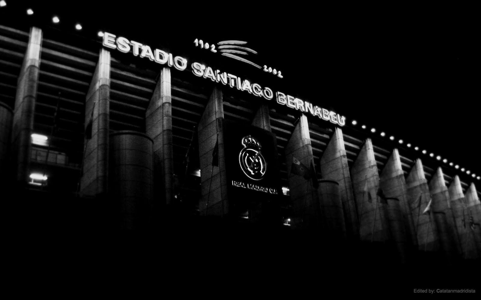 Real Madrid Stadium Wallpapers Hd Pixelstalk Net