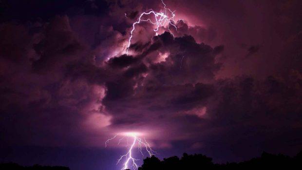Spring 3d Live Wallpaper Free Download Lightning Storm Backgrounds Pixelstalk Net