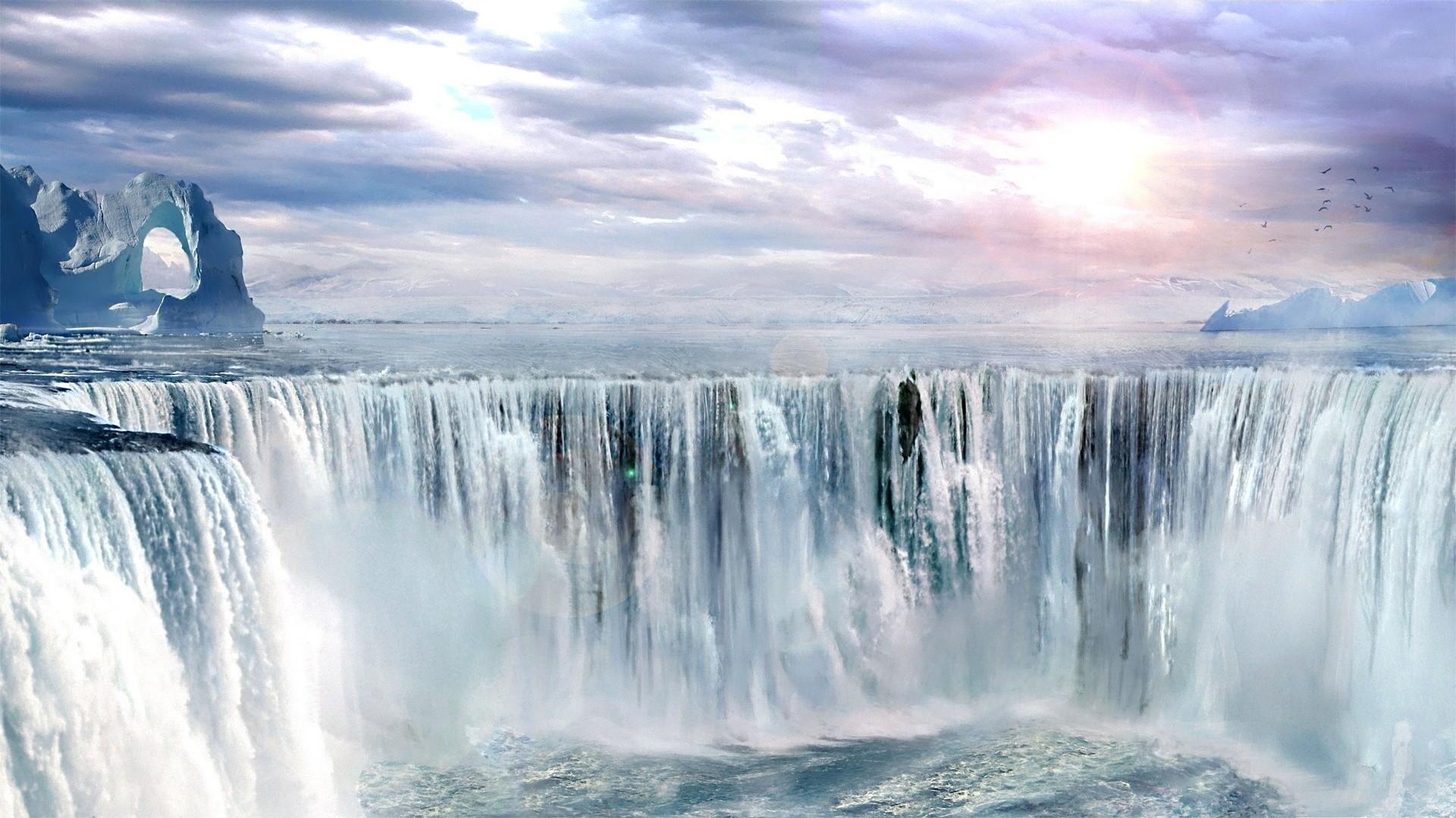 Free Fall Season Wallpaper Waterfall Backgrounds Free Pixelstalk Net