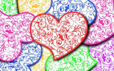 Heart Background free download | PixelsTalk.Net