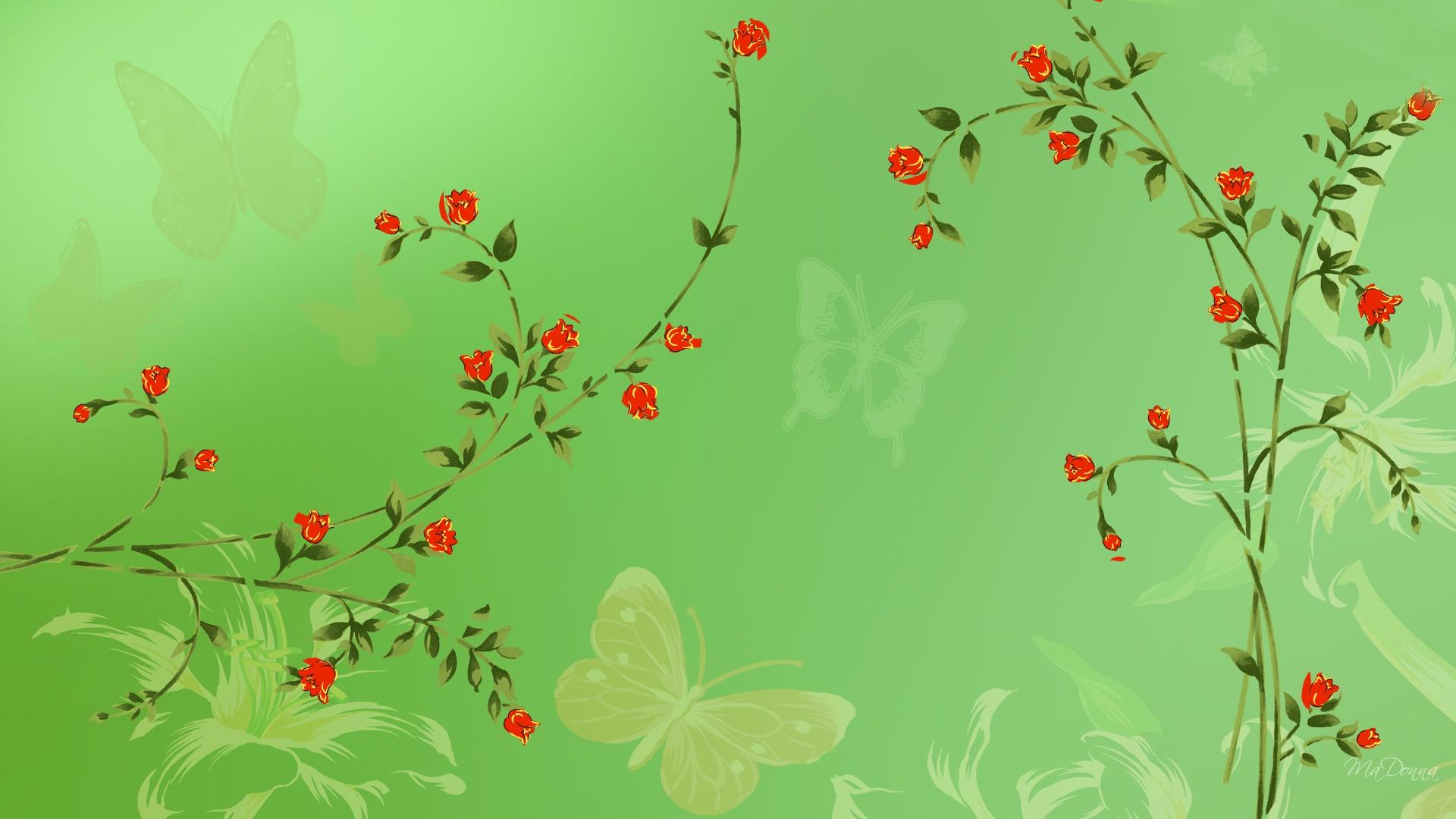 Beautiful Wallpapers 3d Animation Green Leaves Wallpapers Pixelstalk Net