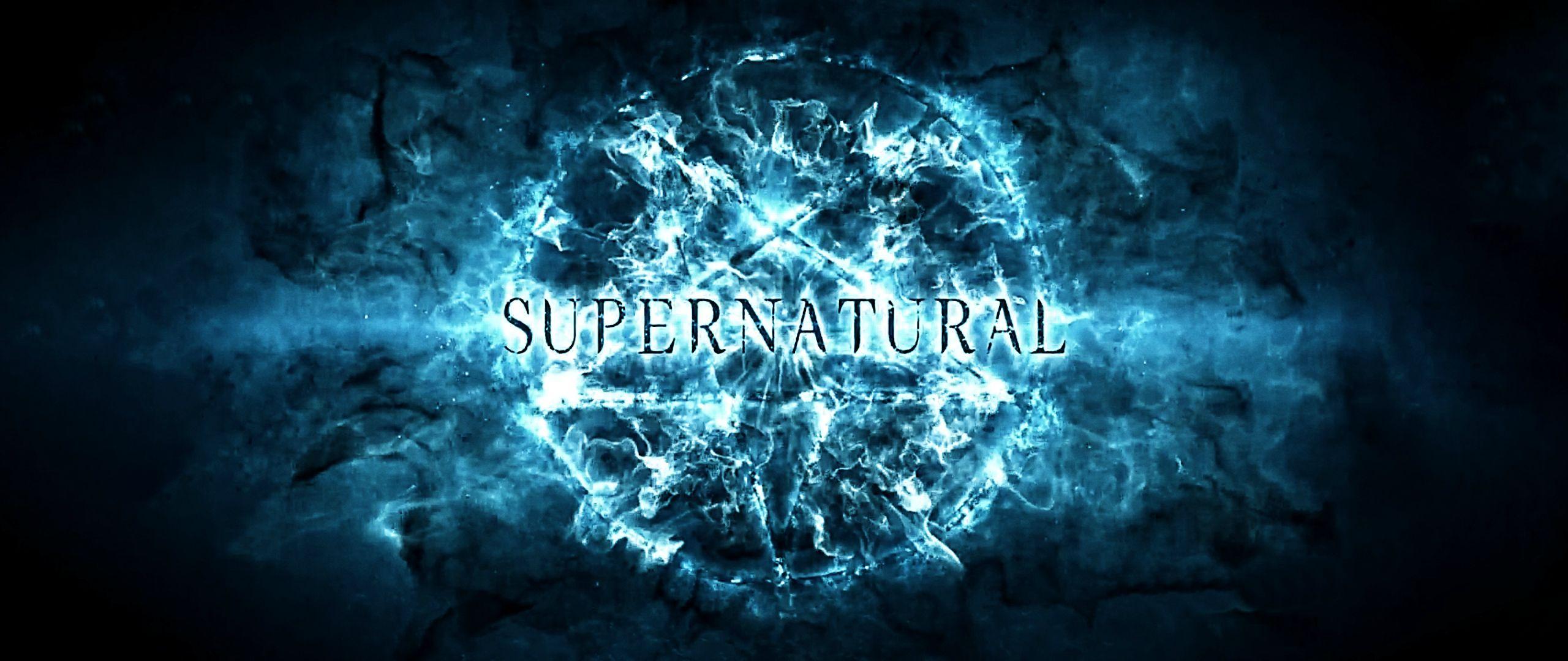 Fall Themed Computer Wallpaper Logo Supernatural Wallpaper Pixelstalk Net