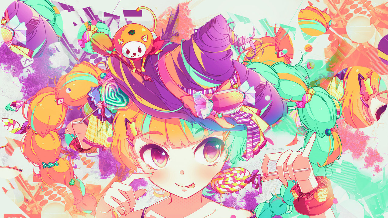 Swag Girl Wallpaper 1920x1080 Anime Kawaii Wallpapers Pixelstalk Net