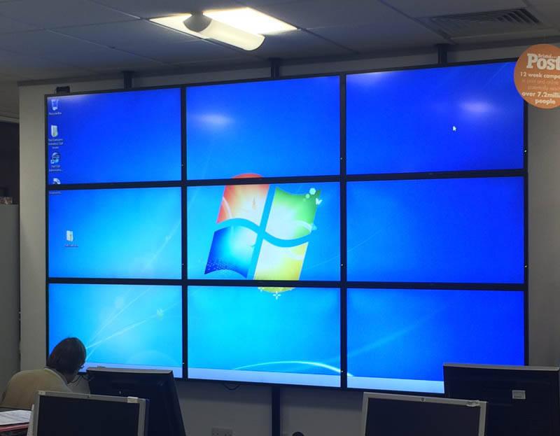 Multi-screen Video Wall solutions - P I X E L U T I O N - multi screen display