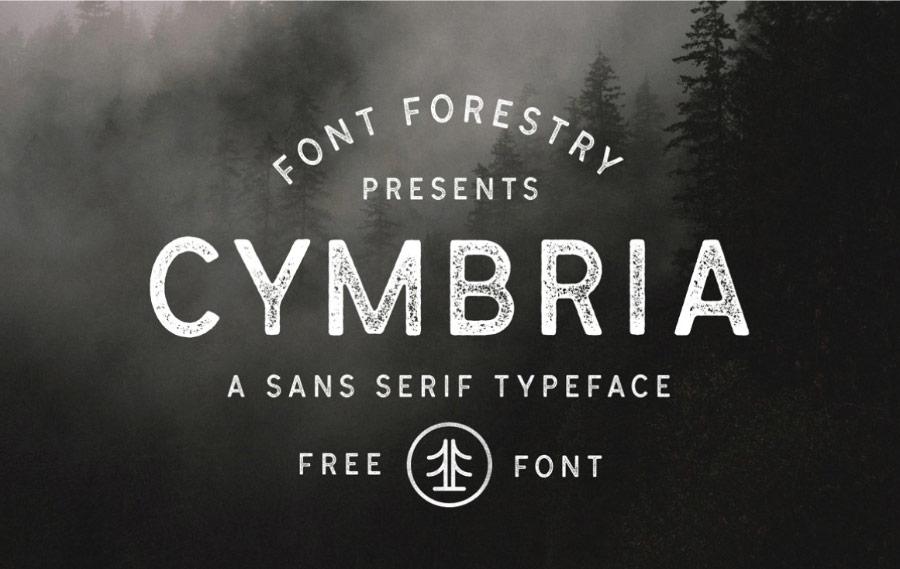 Cymbria Free Font Family Pixlov