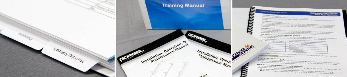 Training Manual Printing - Digital Printing - Pixos Print - - training manual