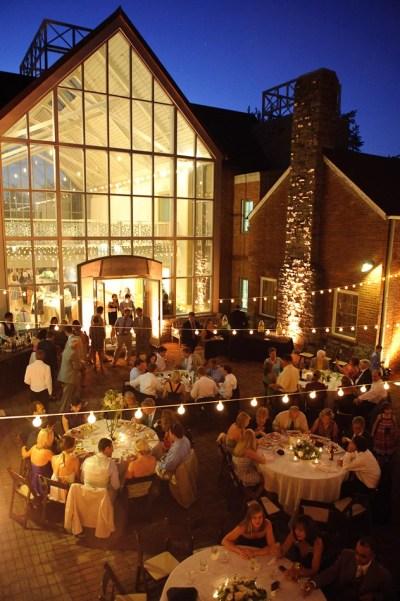 Southern Green + White Wedding, Cheekwood Gardens ...