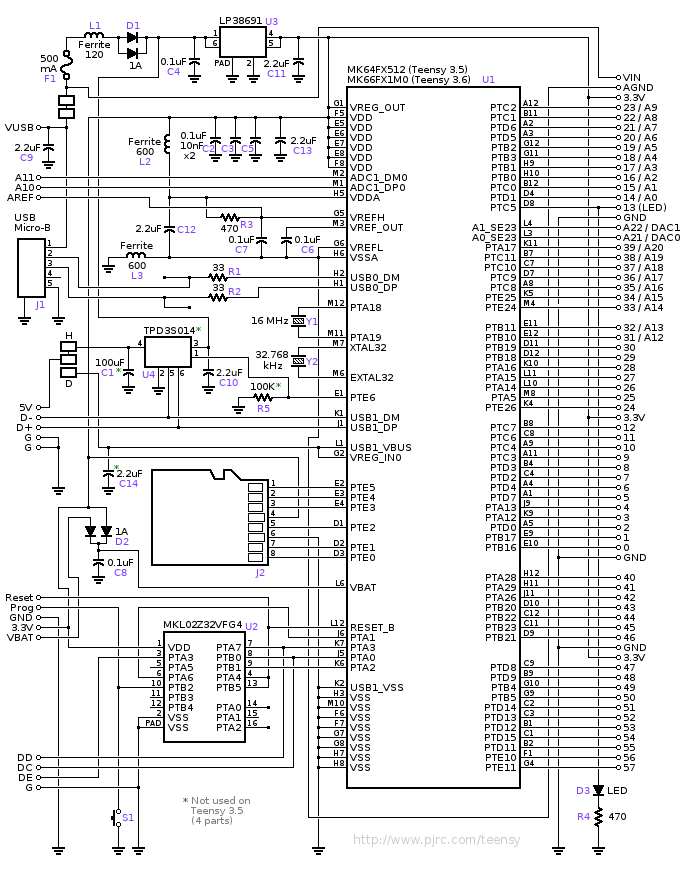 wiring schematic for usb