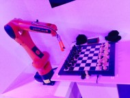 A Robot playing Chess!