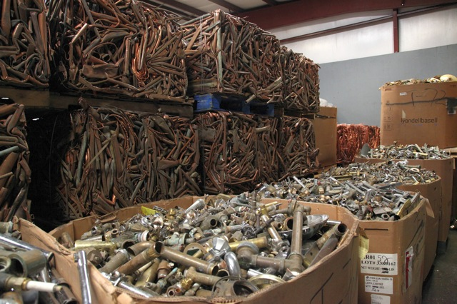Non-Ferrous and Ferrous Scrap Metal Recycling