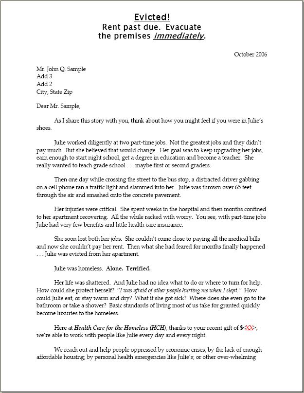 how to write appeal letter