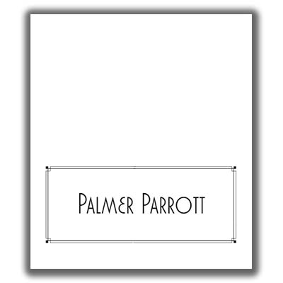 Place Card Template 7 - place card template