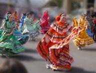 Parada spanish dancers sm