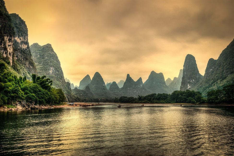 Beautiful Fall Wallpapers The Poetic Li River Cruise In China Places To See In