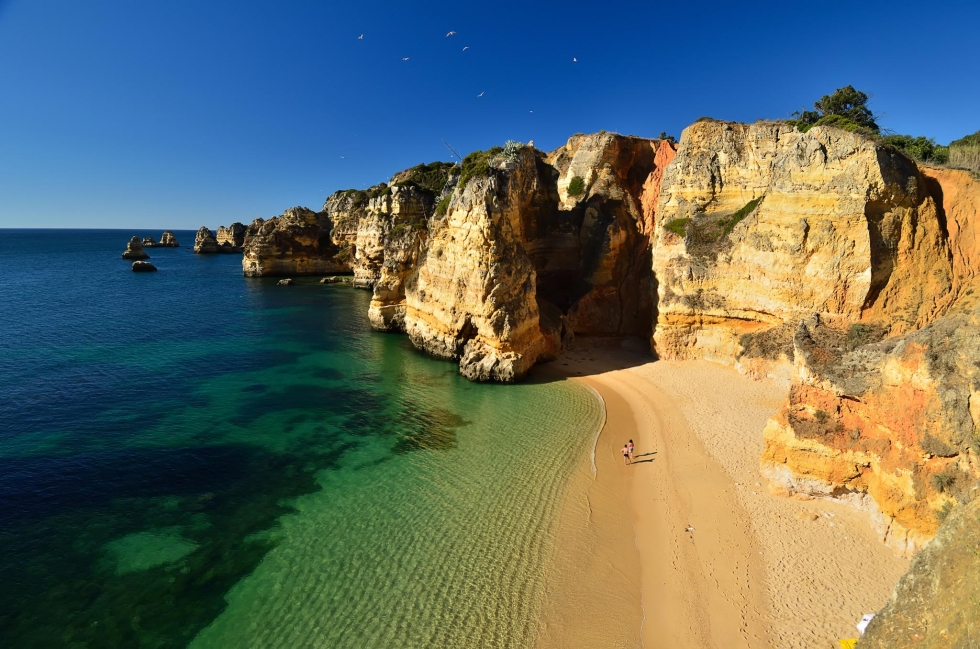 1920x1080 Fall Urban Wallpaper Pristine Beaches And Dramatic Shoreline In Lagos Portugal